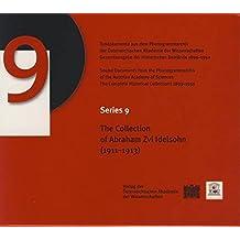 The Collection of Abraham Zvi Idelsohn 1911-1913