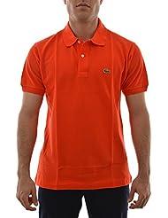 polos lacoste l1212 orange
