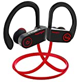 Bluetooth Headphones, Muzili IPX7 Waterproof Bluetooth Earphones, Wireless Sport Earbuds, Richer Bass HiFi
