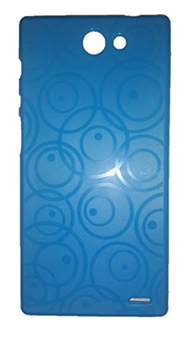 Iball Andi 5.9 Cobalt Plate SDB Case Soft Back Case Cover Back Cover Dark Blue-ECellStreet  available at amazon for Rs.197