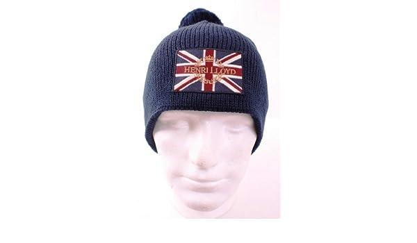 ba42122ec7495 Henri Lloyd Knighton Beanie Navy  Amazon.co.uk  Clothing