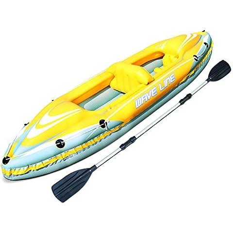 Bestway Kajak 357x77cm wave Line Set - Kayak Doble Hydro Force