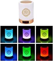 LED Touch Lamp Quran Speaker, Wireless Bluetooth Speaker with Remote Control, with Colorful Breathing Lamp, Se