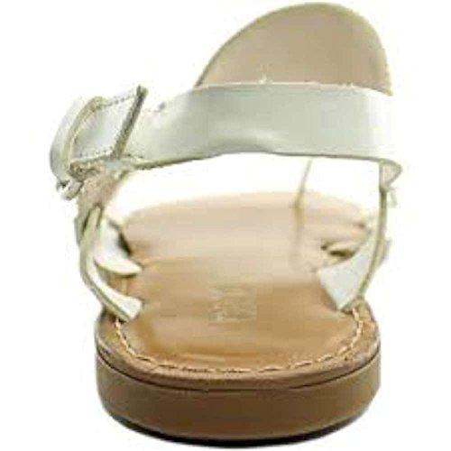 Bar IIIVoltage - Scarpe con cinturino alla caviglia donna White