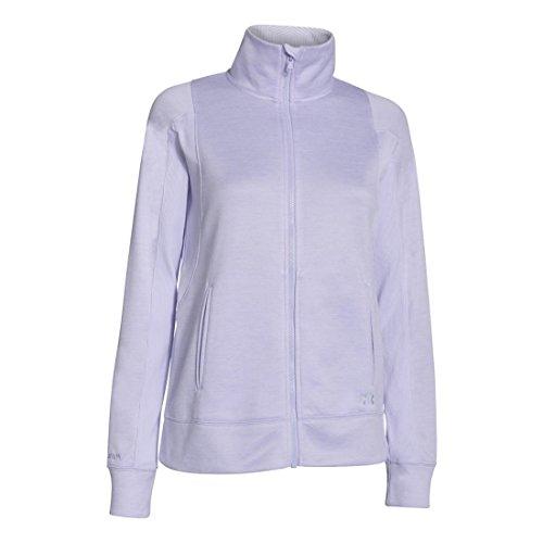 Under Armour Damen Top UA CGI FZ Jacket Lavender Ice Twisted / LIC