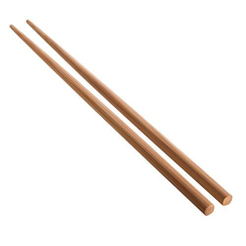 Reishunger edle Essstäbchen, Bambus, dunkel, 24 cm (10 Paar) [vom 1er bis 250er Pack erhältlich]
