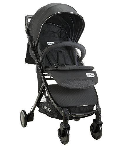 059e9e363 Luvlap Spark Baby Stroller Pram (Black) For Rs. 8459   53% OFF - Deals
