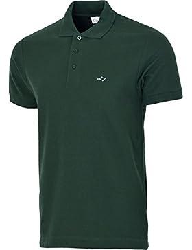 [Patrocinado]John Shark - Camiseta - cuello abuelo - para hombre