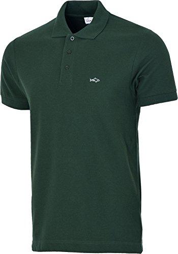 John Shark Herren T-Shirt, Logo Gr. X-Large, Grün (Männer Rugby)