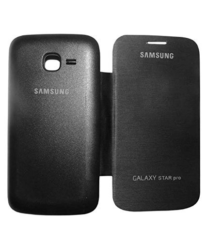 Evoque Flip Cover For Samsung Galaxy Star Pro S7262 Black  available at amazon for Rs.149