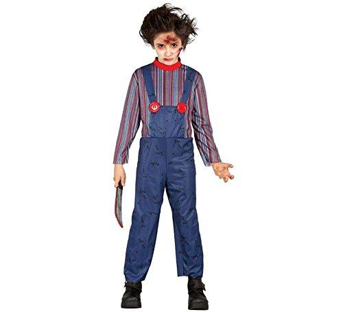 Disfraz de muñeco asesino infantil - 10-12 años