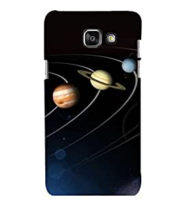 printtech Solar Planets Galaxy Back Case Cover for Samsung Galaxy A3 2016 Edition