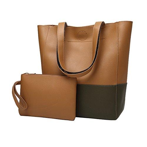 Oangel - Sacchetto Donna grey+brown