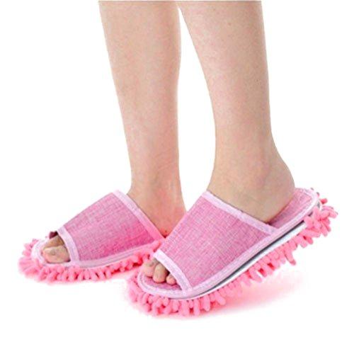 tinksky-frauen-pantoffel-mikrofaser-bodenreinigung-mop-damen-hausschuhe-rosa