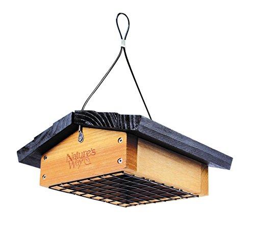 Upside-down-finch Feeder (Nature's Way Cedar Suet Upside-down Feeder)