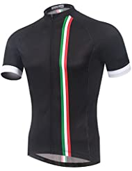 Spoz Men Italy Fashion Cycling Jersey Top M