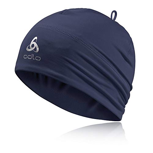 Odlo Hat Hat Polyknit WARM Mütze, Poseidon Sport Mütze