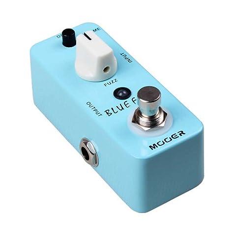 Mooer pédale-blue faze fuzz pour guitare électrique