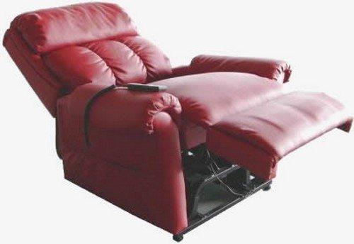 Sessel Relax comodona–Version Mehrwertsteuer erleichtert (Gesetz 104/1992) Microfibra Blu