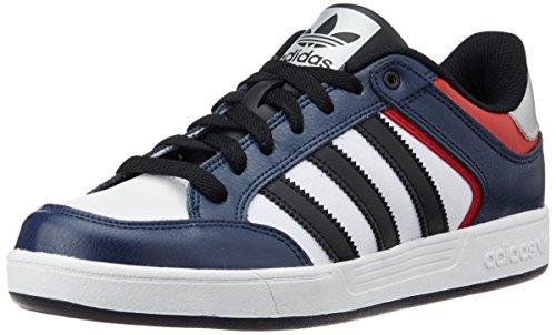adidas Varial Low, Baskets Basses Homme, Mehrfarbig Blau (Collegiate Navy/Core Black/Scarlet)