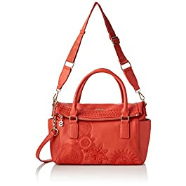 Desigual Dark Amber Loverty, Borsetta da Polso Donna, 9x24x29.5 centimeters (B x H x T)