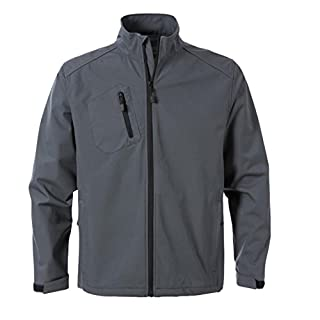 ACODE Herren Soft-Shell Jacke 1476 | Größe: 44/46 (S) | Grau