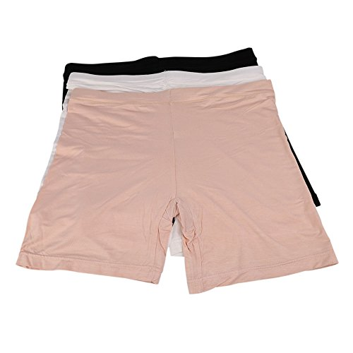 LONTG Lady Safety Shorts Modal Safety Pants Leggings Cotton Boxer Briefs Seamless Breathable Underwear Summer Boyshorts
