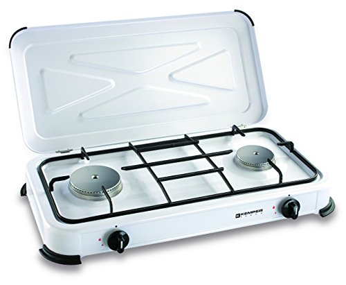Camping Cooker 2 Gas Burner 30mbar