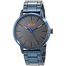 da9e7515df18 Hugo Boss Orange Reloj Análogo clásico para Hombre de Cuarzo con Correa en Acero  Inoxidable 1550059