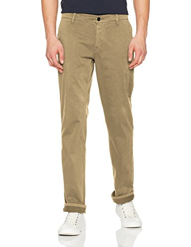 BOSS Herren Schino-Regular D Hose, Braun (Light/Pastel Brown 239), 35W / 34L