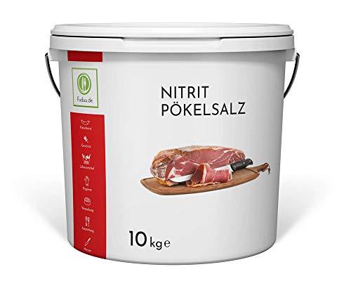 Fuduu.de - Nitritsalz / Pökelsalz, 10 kg Eimer