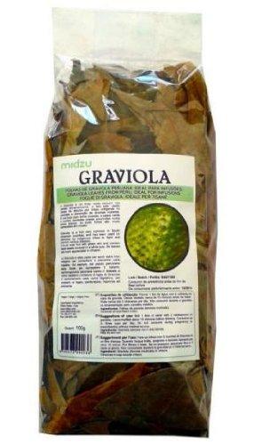 Graviola Blätter naturbelassen ohne Zusätze - 100g - Annona muricata - Soursop - schonend getrocknete Blätter