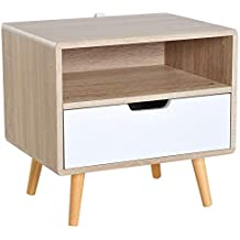 Amazon Fr Table De Chevet Style Scandinave