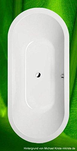 Badewanne 175x80 VIVA-O - Badewanne oval