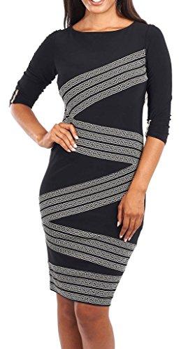 Joseph Ribkoff Women's Pencil Dress Black * One Size