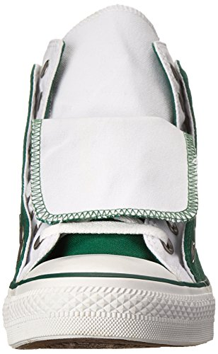 Converse, Casual unisex adulto (White, Green)