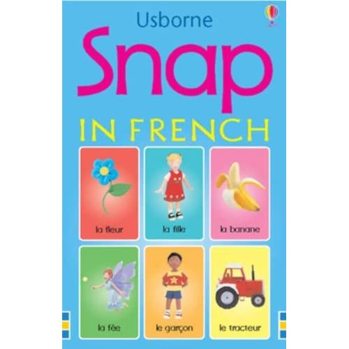 Snap Cards in French by Jo Litchfield (Illustrator) (30-Jul-2004) Cards
