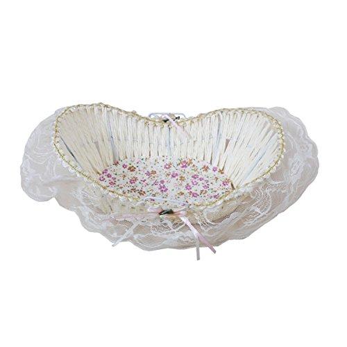 Elegant Fur & Paper Oval Shaped Basket by Triveni
