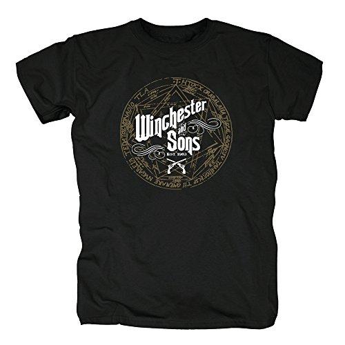 tsp-winchester-and-sons-t-shirt-herren-m-schwarz