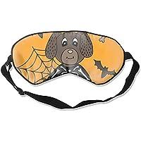 Schlafmaske aus Seide, für Halloween, Hund, atmungsaktiv, weich, für Reisen, Schlafen, Entspannung, Spa, Daydream... preisvergleich bei billige-tabletten.eu
