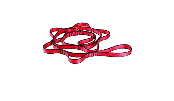 Gurt verstellbar Gurt Seil f/ür Yoga Jagd Camping Outdoor Sport Starker Klettern Rot//Grau GDRAVEN 2 Starker Daisy Chain