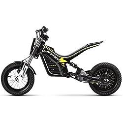 KUBERG Enfants Start Electric Dirt Bike, Noir, S