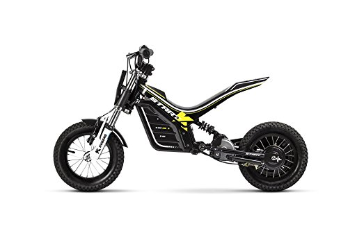 KUBERG Kinder Start Electric Dirt Bike, Black, S