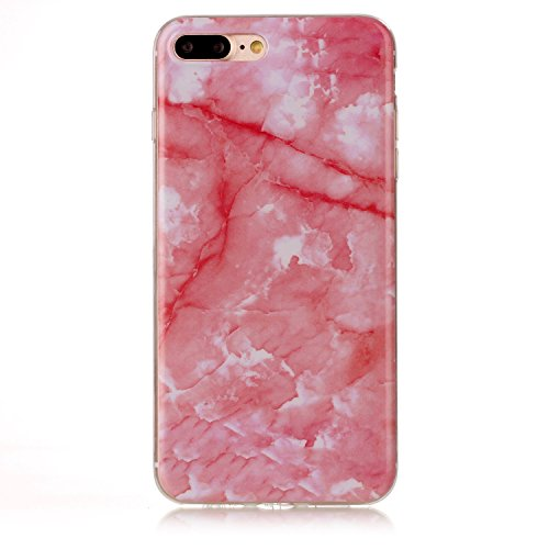 EKINHUI Case Cover Für Apple IPhone 7 Plus Rückseiten-Abdeckung Weiche flexible dünne u. Leichte bunte TPU pretektive Silikon-Kasten-Abdeckung ( Color : A ) B