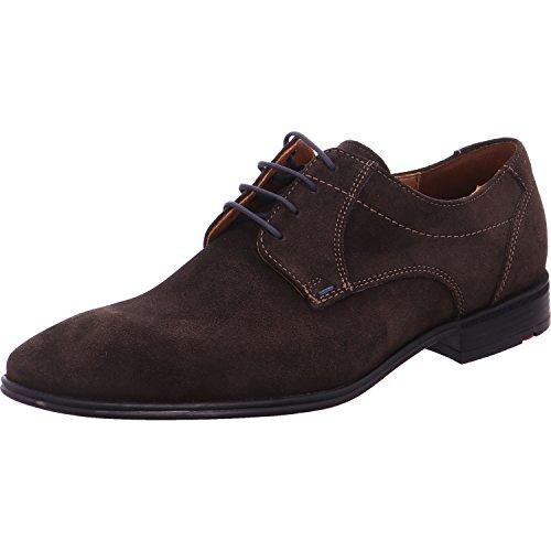 LLOYD Kovas - Zapatos de cordones para hombre, color marrón, talla 7.5