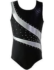 ESHOO Enfant Filles Gymnastique justaucorps Costumes de Ballet Dancewear réservoir de bodysuit
