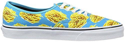 Vans U Authentic Sneakers, Unisex Adulto Turchese/Giallo
