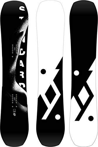 YES Herren Snowboard Standard 2020, einfarbig, 153 cm -