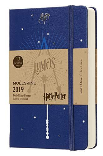 Diario 12m de edición limitada Harry Potter de bolsillo, color azul