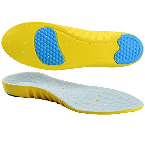 Soumit-Ultra-Soffice-Antiurto-Sport-Solette-L-EU-42-45-Comfort-Traspirante-Unisex-Solette-con-Sostegno-DellArco-Plantare-Eccellente-Assorbimento-Degli-Impatti-per-Correre-Jogging-Riduce-I-Affaticament